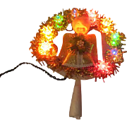 Golden Angel Christmas Tree Topper - b248