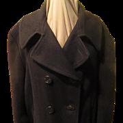 Double Breast Navy Pea Coat