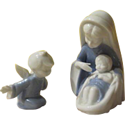 Lefton Madonna and Angel Figures - b247