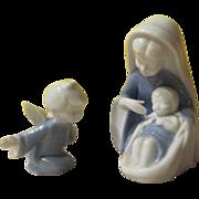 Lefton Madonna and Angel Figures - b247
