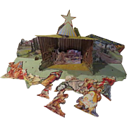 The Christmas Story Concordia Christmas Manger Set - b242