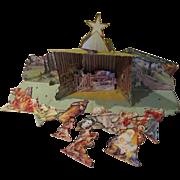 The Christmas Story Concordia Christmas Manger Set - b242