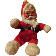 "Plush Santa ""Jingle Bells'' Music Box - x-17"
