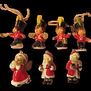 Miniature Feather Tree Ornaments - X-17