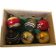 Stripes Around Christmas Tree Ornaments - X-17-L