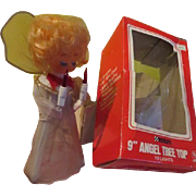 Tulle Gown Angel Tree Top - X-17-L