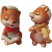 Christmas Squirrels Figures - X-17