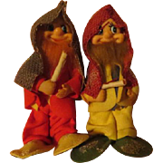 Gnomish Elves  Christmas Figures - X-17