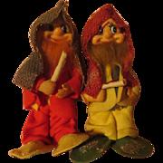 Gnomish Elves  Christmas Figures - X-17