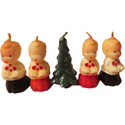 Choirboys and Christmas Tree Candles - X-17
