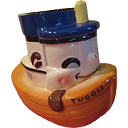 Sierra Vista Tuggle the Tugboat Cookie Jar