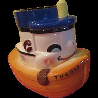Sierra Vista Tuggle the Tugboat Cookie Jar