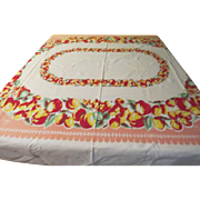 You Like Apples Print Tablecloth - b230