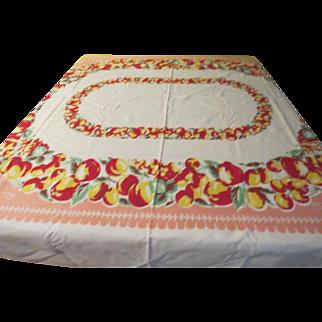 You Like Apples Print Tablecloth - b230