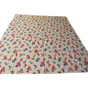 It's a Fiesta Card table Cloth - b229