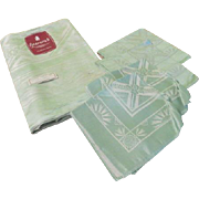 Sparwick Irish Made Tablecloth and Napkins - b249