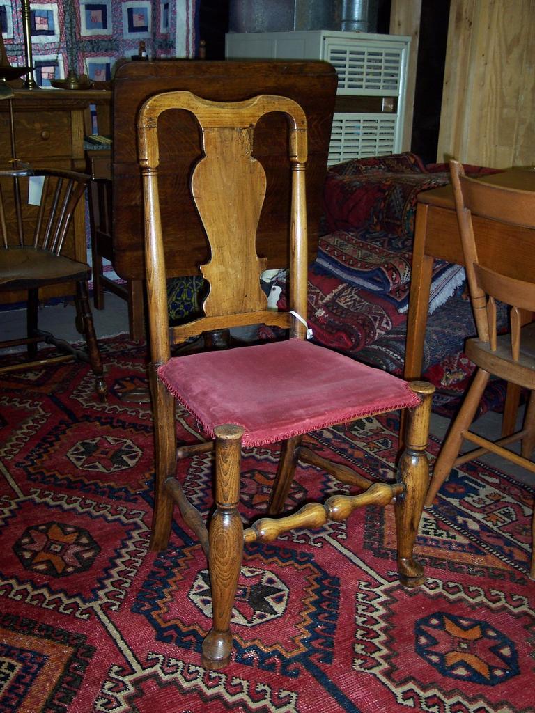 Ca. 1710 Queen Anne Side Chair
