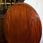 Victorian mahogany oval tilt-top breakfast table - Red Tag Sale Item