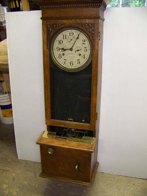 W. H. Bundy Recording Clock Syracuse New York