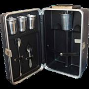 Platt Travel Bar Trav-L-Bar Small Set Black Case