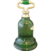 Avon Emerald Green Bell Sweet Honesty Bottle