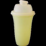 Tupperware Yellow Quick Shake Mixer Blender #844