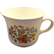 Corning Indian Summer Creamer