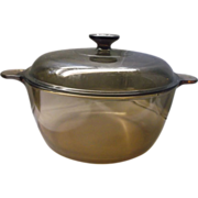Amber Visions Dutch Oven 4.5L 5 Qt Corning
