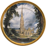 Arklow Ireland Porcelain Plate St. Saviour's Church