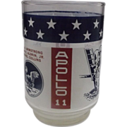 Apollo 11 Commemorative Glass Tumbler Libbey