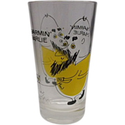 Charmin' Charlie Cartoon Glass Whimsical