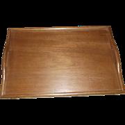 MidCentury Modern Solid Teak Bed Tray