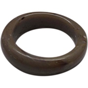 Cafe au Laut Marbled Chunky Lucite Bangle Bracelet
