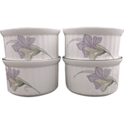 Noritake Cafe du Soir Ramekins Set of 4