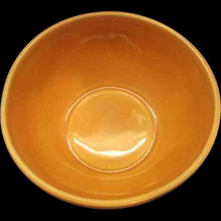 Belmar of California Peach Glazed Serving Dish Base Bowl Only