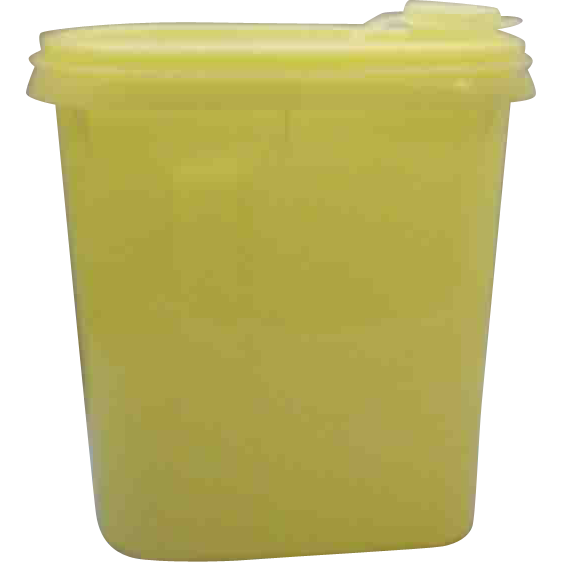 Tupperware Yellow Beverage Buddy 1 Quart