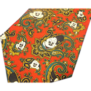Mickey Mouse Red Paisley Tie Balancine Tie Works Disney