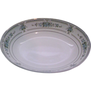 Elington Fine China of Japan Oval Serving Bowl