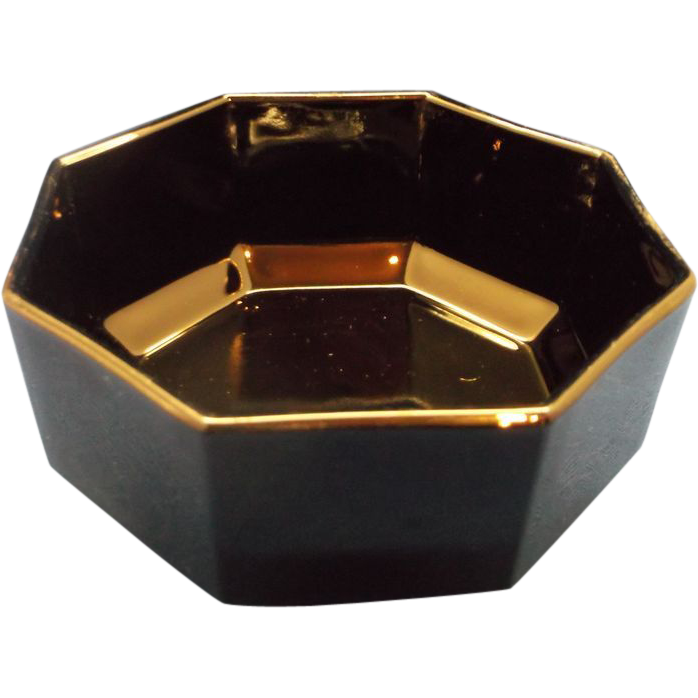 Arcoroc Octime Black Open Sugar Bowl