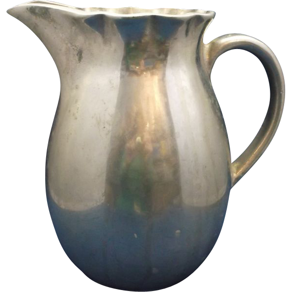 Wilton Mount Joy, Pa. Queen Anne Pitcher Aluminum Alloy