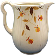 Hall Autumn Leaves Jewel Tea Coffee Pot No Lid
