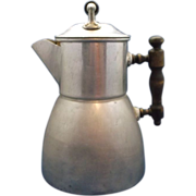Wearever Aluminum Coffee Pot Percolator Pat. June 10, 1902
