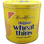 Wheat Thins 1987 Limited Edition Tin Still Full