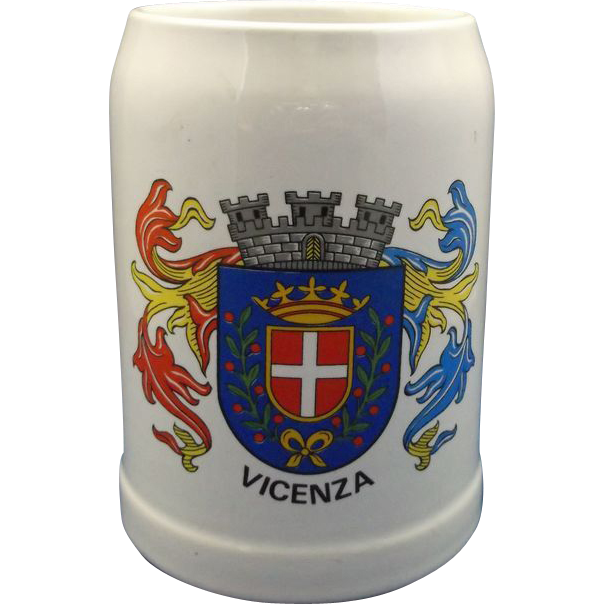 Vicenza (Venice) Souvenir Beer Stein .5L Stoneware