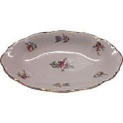 Priscilla Oval Bowl Scalloped Homer Laughlin Household Institute