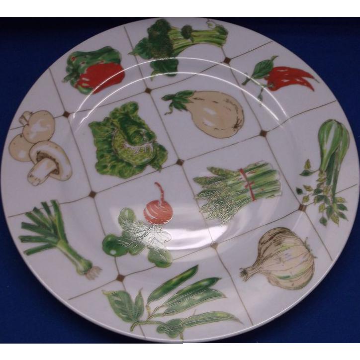 Georges Briard La Salade Salad Dinner Plates