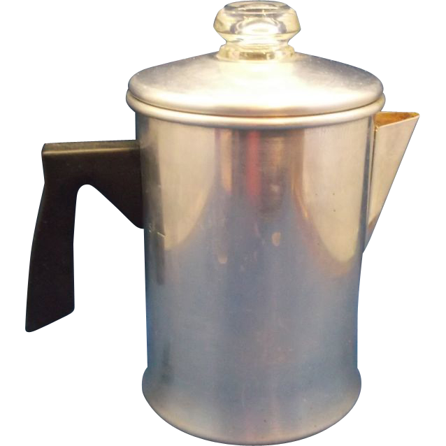 Foley 5 Cup Aluminum Stovetop Camping Coffee Pot Percolator