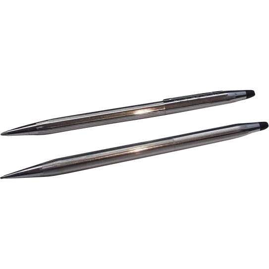 Cross Classic Century Chrome Pens Pair