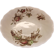 Johnson Bros Harvest Time Oval Serving Vegetable Bowl 1967-1978