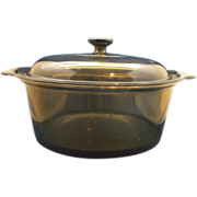 Corning Visions 5L Amber Dutch Oven Teflon Base